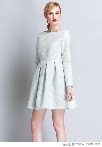 品位高裙子穿出大气场